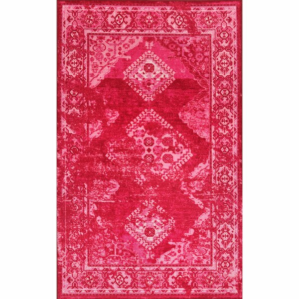 Pink Area Rug by nuLOOM
