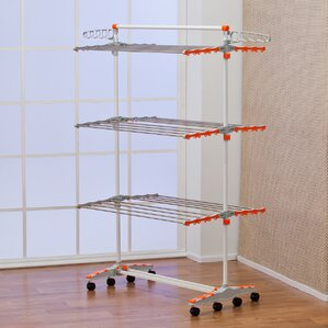 Foldable U0026 Compact Storage Clothes Drying Rack