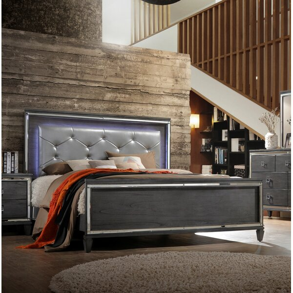 Ezio Upholstered Standard Bed by House of Hampton