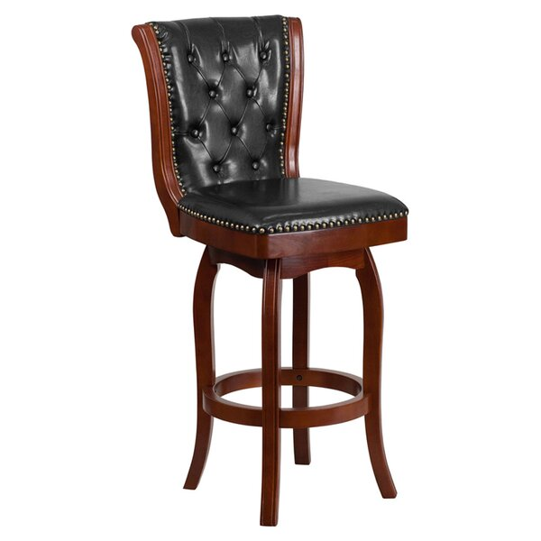 Udel 31 Swivel Bar Stool by Darby Home Co