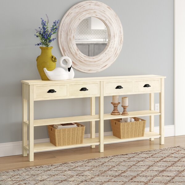 Zampa Console Table by August Grove