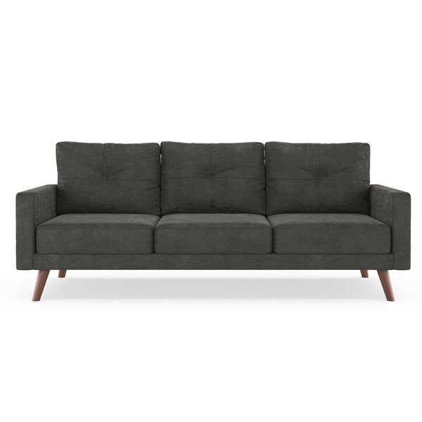 Courtney Microsuede Sofa by Foundry Select