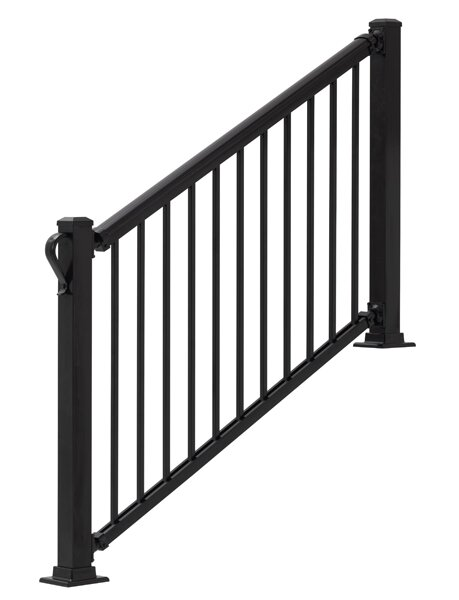 3 ft. H x 6 ft. W Summit Stair Railing by Gilpin Inc