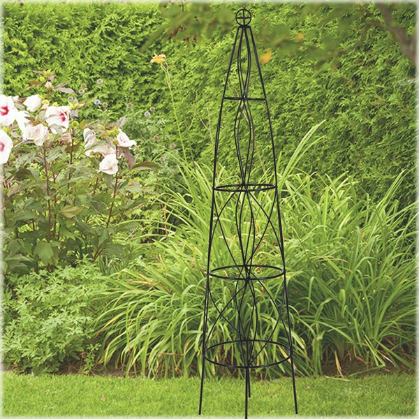 Iron Obelisk Trellis by CobraCo
