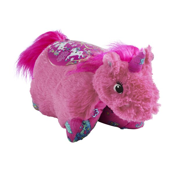 Sleeptime Lite Colorful Pink Unicorn Plush Night Light by Pillow Pets