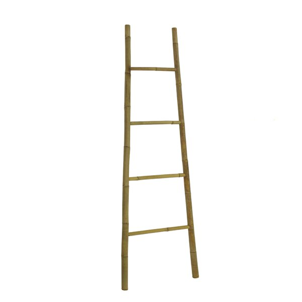 Bamboo Bath Towel 6 ft Decorative Ladder by Mistana