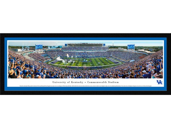 NCAA Kentucky, University of - Football by James Blakeway Framed Photographic Print by Blakeway Worldwide Panoramas, Inc