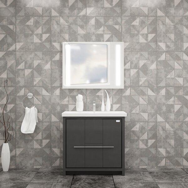 Urich 32 Single Bathroom Vanity Set with Mirror