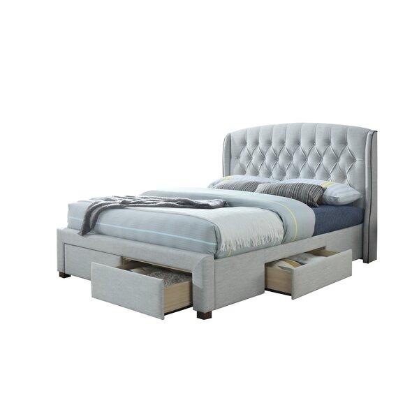 Raleigh King Upholstered Storage Platform Bed by Rosdorf Park