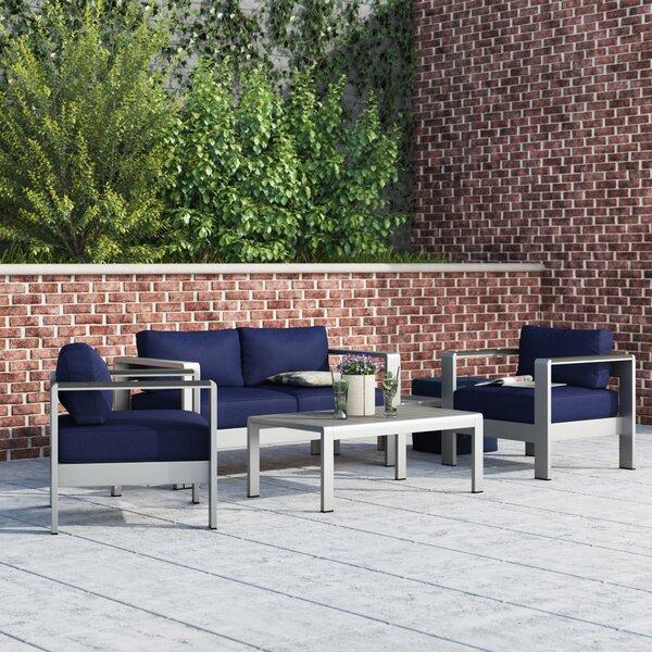 Coline 6 Piece Sofa Set with Cushions by Orren Ellis