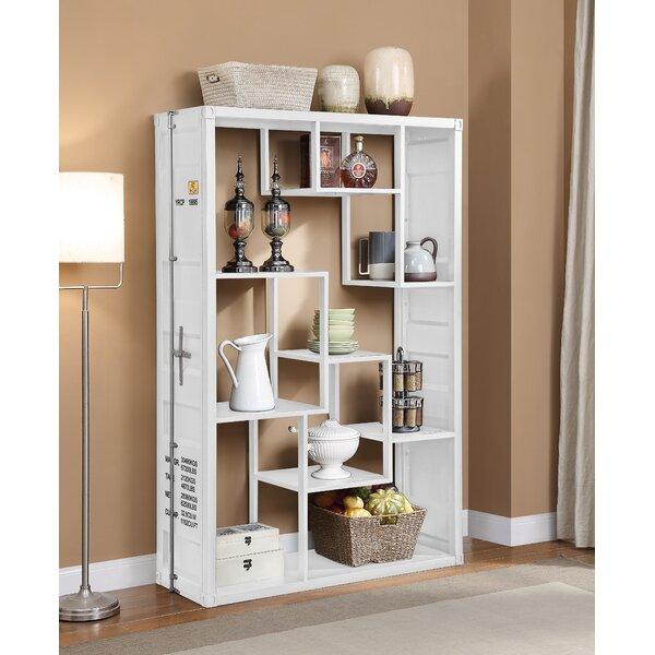 Home & Outdoor Medau Metal Geometric Bookcase