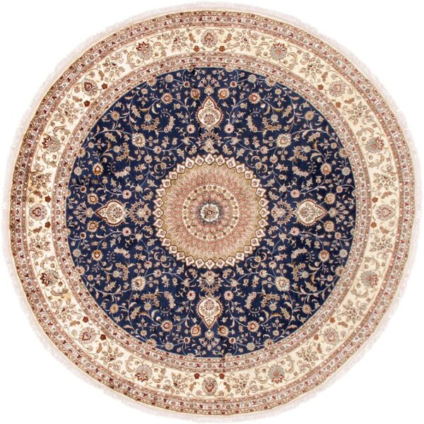 Tabriz Hand-Knotted Area Rug by Pasargad