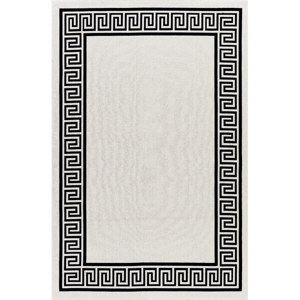 Molden High-Quality Black Indoor/Outdoor Area Rug by Bloomsbury Market
