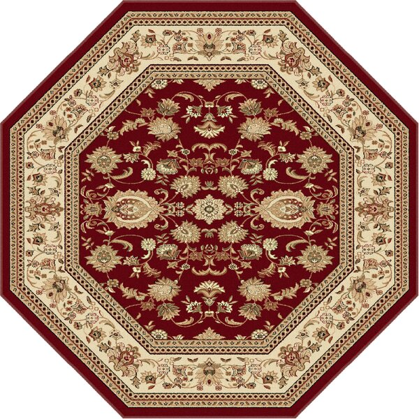 Clarence Beige/Red Area Rug by Astoria Grand