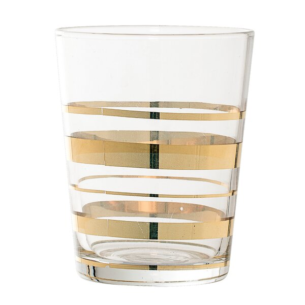 Whitmore Glass Striped Tumbler (Set of 6) by Willa Arlo Interiors