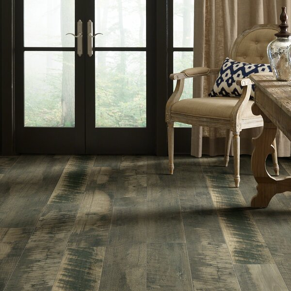 Milford Bay 5.43 x 47.72 Laminate Flooring in Junction Gray by Shaw Floors