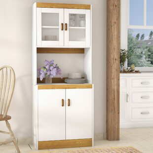 Microwave Cabinet With Storage | Wayfair