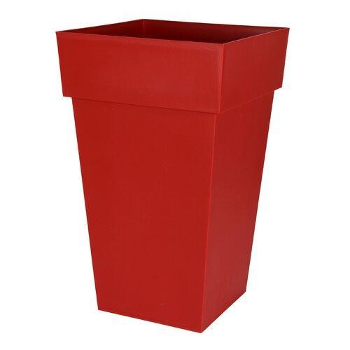 Faversham Plastic Planter Box Freeport Park Colour: Red,