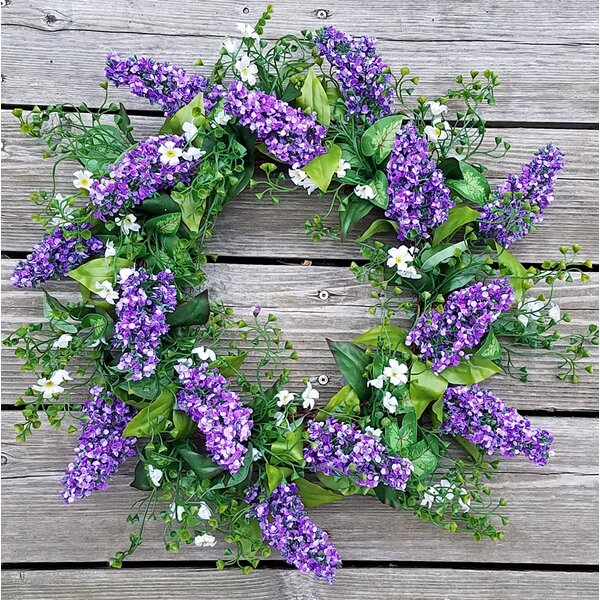 Lavender Shell 20 Wreath by August Grove