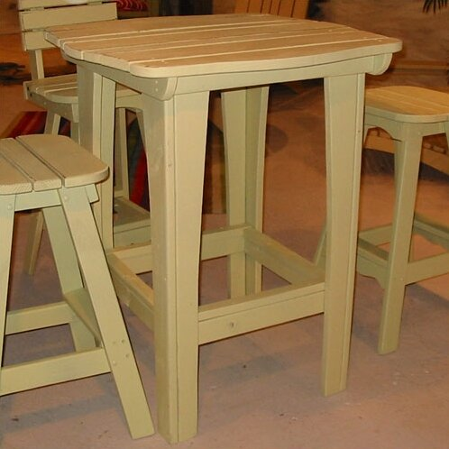 Mcclung Wood Bar Table by Darby Home Co Darby Home Co