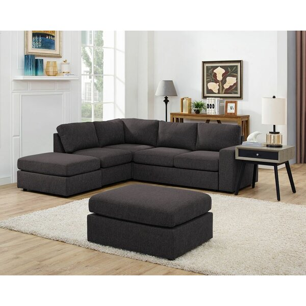 Ayleen Modular Sectional with Ottoman by Ivy Bronx