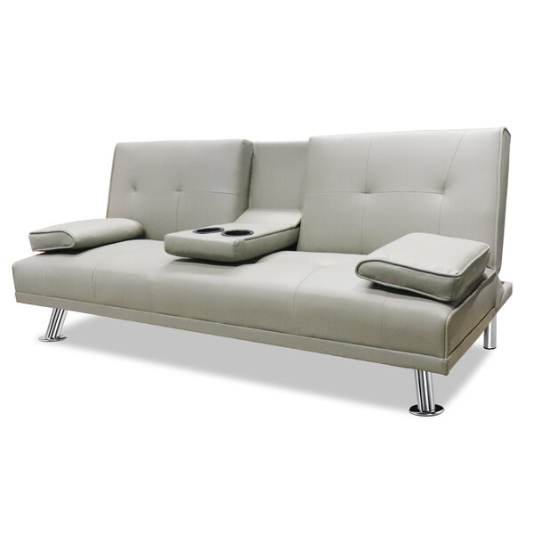 Adhern 65.25'' Pillow Top Arm Sleeper By Latitude Run