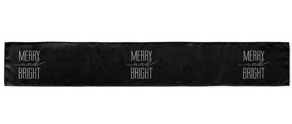 Merry and Bright Table Runner by KAVKA DESIGNS