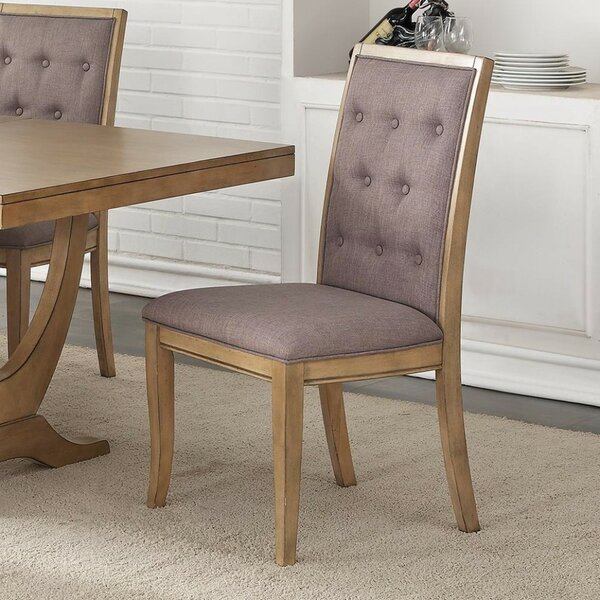 Desbois Upholstered Dining Chair (Set of 2) by One Allium Way