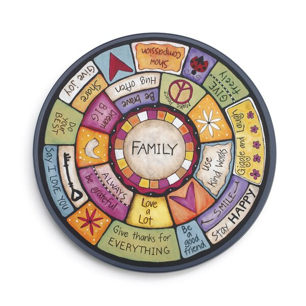 Family Values Lazy Susan by DEMDACO
