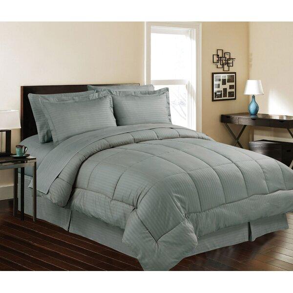 Mcclean Stripe Comforter Set by Winston Porter