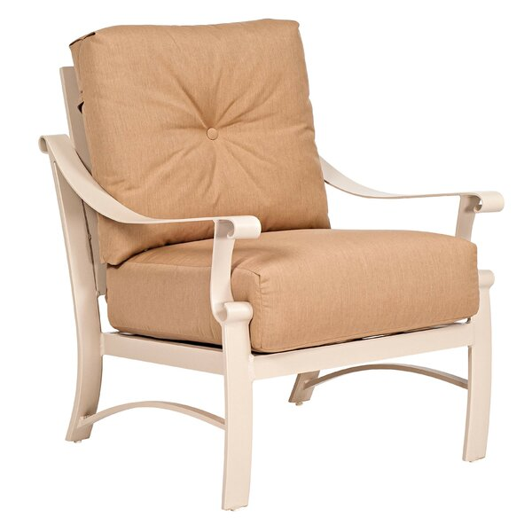 Salona Love Seat with Cushions by Woodard