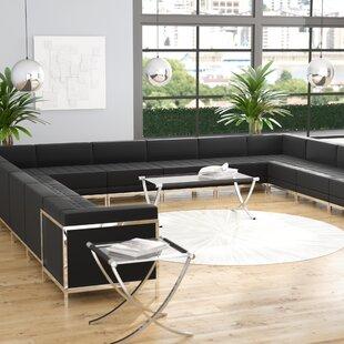 Bouffard Leather Modular Sectional