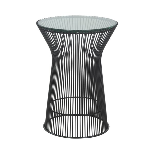 Swenja Pedestal End Table by Wrought Studio Wrought Studio