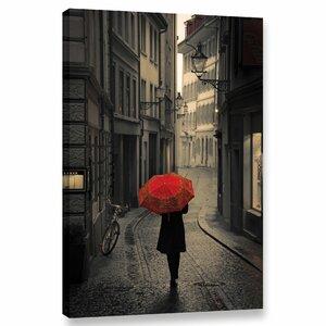 'Red Rain' Photographic Print on Canvas by Latitude Run