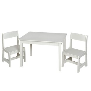 Savings Chatham Square Kids Rectangle Table and Chair Set ByHarriet Bee
