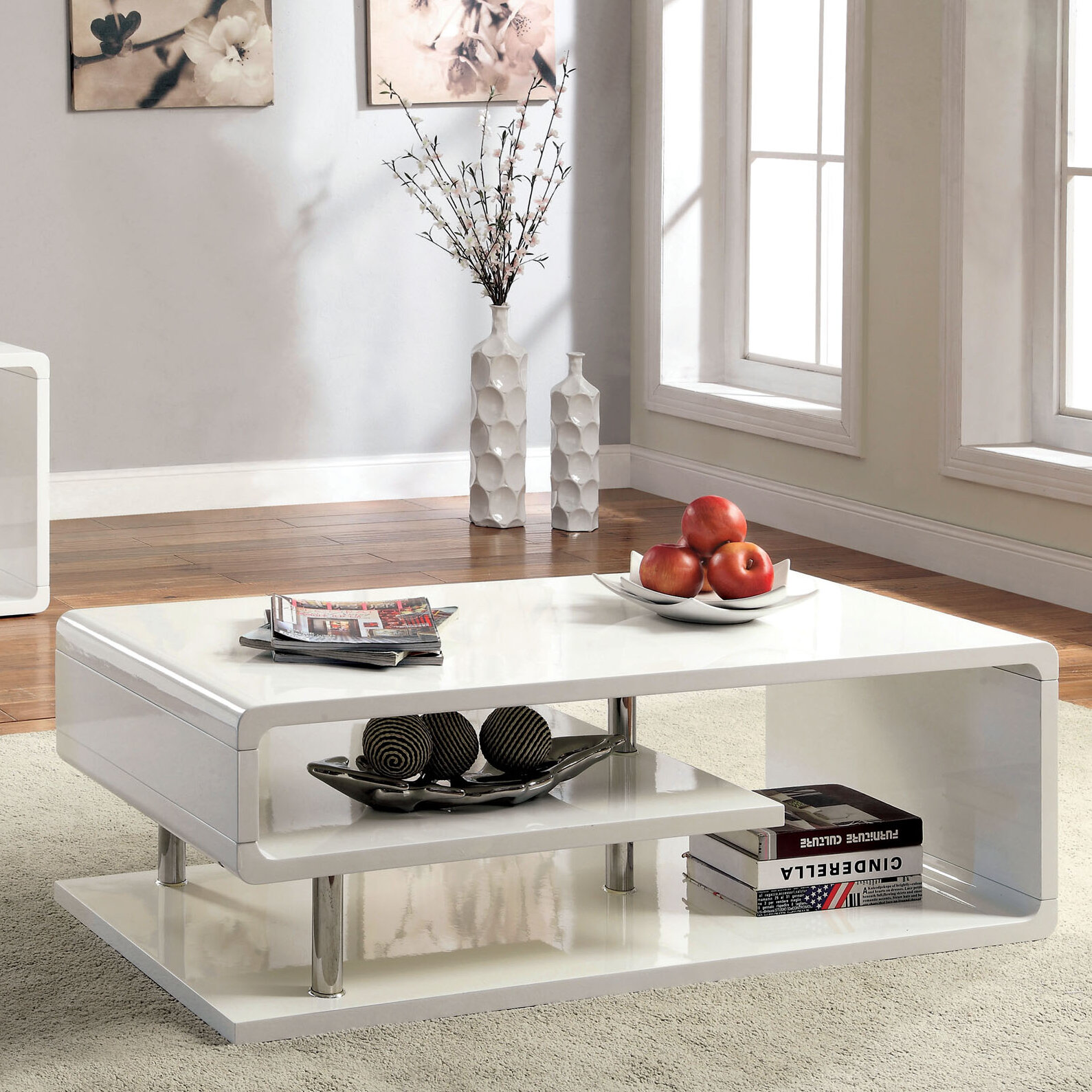 Wade Logan Luther Coffee Table & Reviews | Wayfair