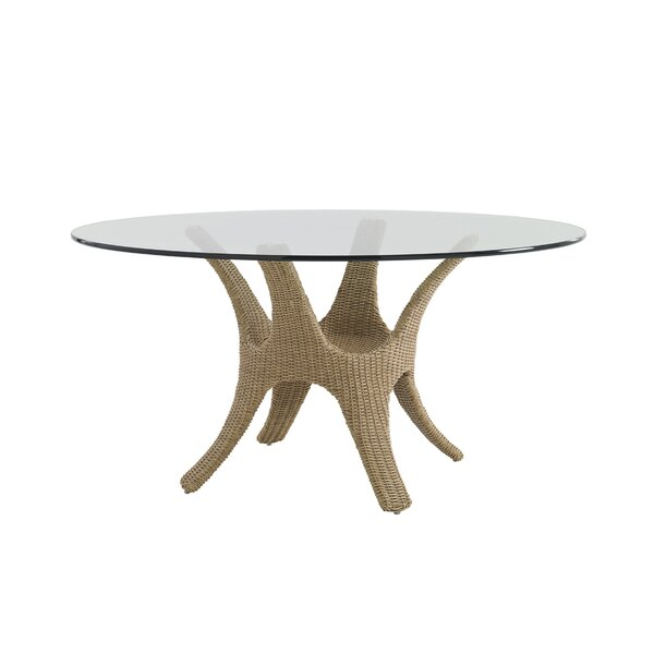 Aviano Wicker Rattan Dining Table by Tommy Bahama Outdoor
