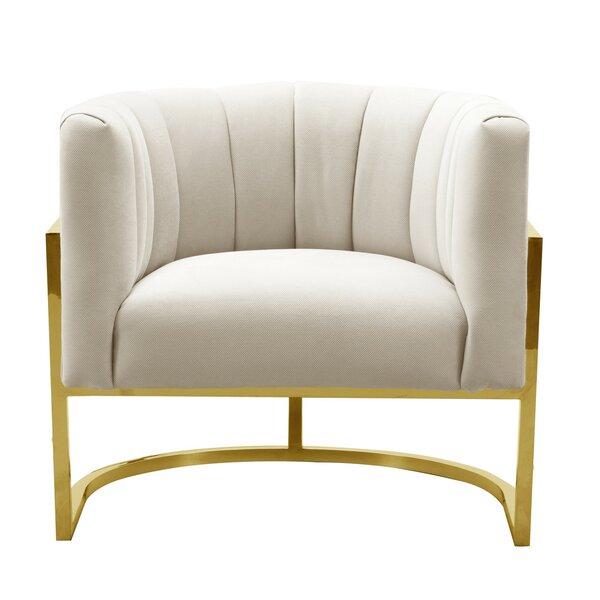 Wilton Barrel Chair by Everly Quinn