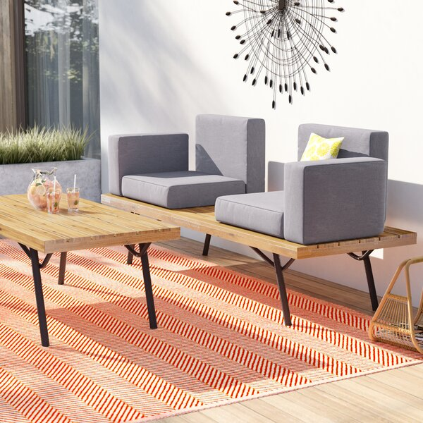 Beaty 2 Piece Sofa Seating Group with Cushions by Williston Forge