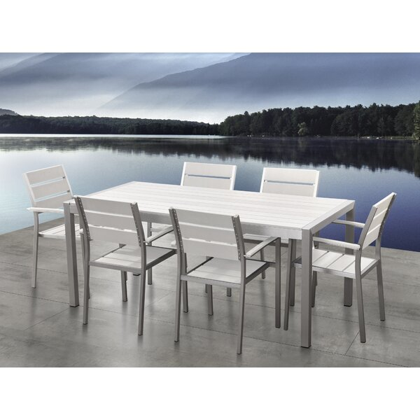 Gilbrae 7 Piece Dining Set by Orren Ellis