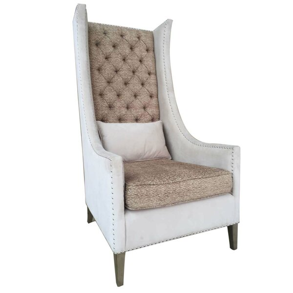 Lars Wingback Chair by One Allium Way