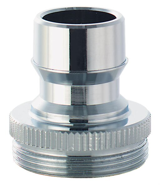 Low Lead Chrome Snap Fit Adapter by Waxman