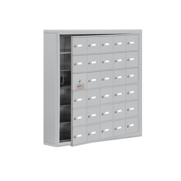 6 Tier 5 Wide EmpLoyee Locker by Salsbury Industries