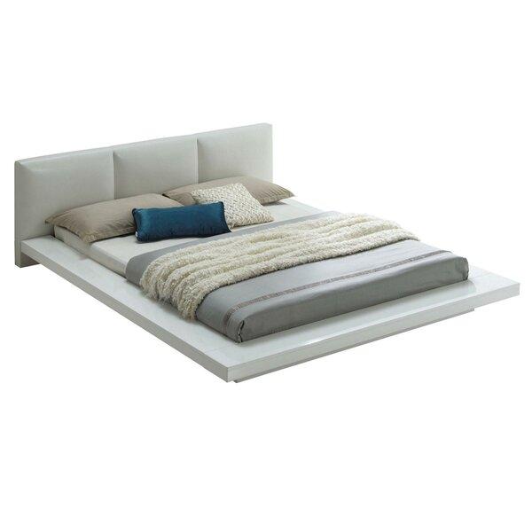 Jacinda Low Profile Queen Upholstered Platform Bed by Latitude Run