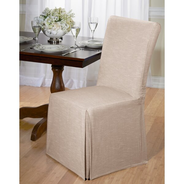 Cotton Dining Chair Slipcover by August Grove