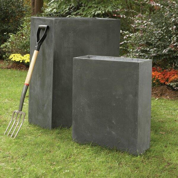 Midwood 2-Piece Composite Planter Box Set by Brayden Studio