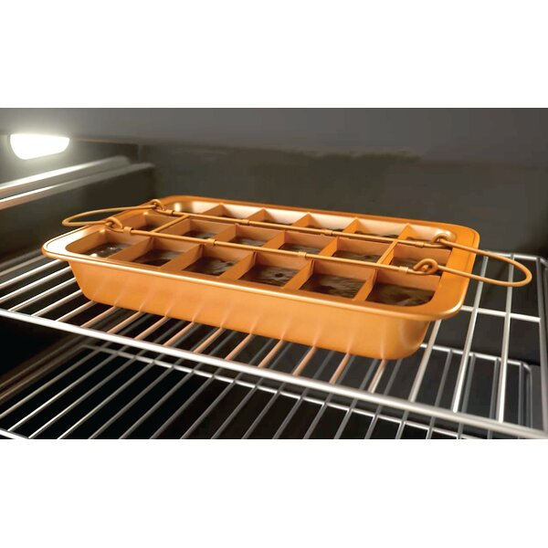 Non-Stick Brooklyn Brownie Baking Sheet by Gotham Steel