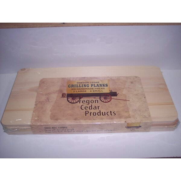6 Piece Wood Plank Set by Oregon Wood Products