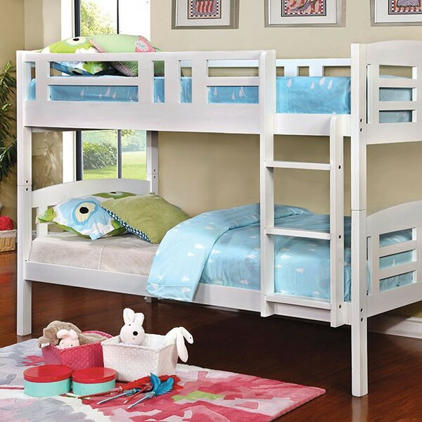 Fredson Twin over Twin Bunk Bed by Harriet Bee