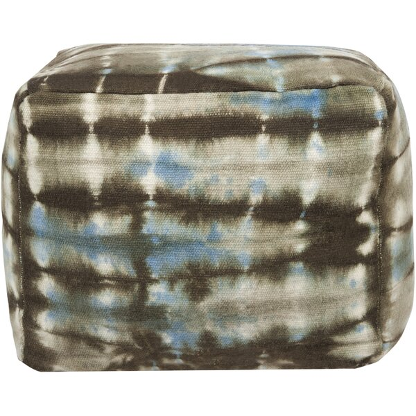 Duffin Tasteful Tie-Dye Pouf by Brayden Studio